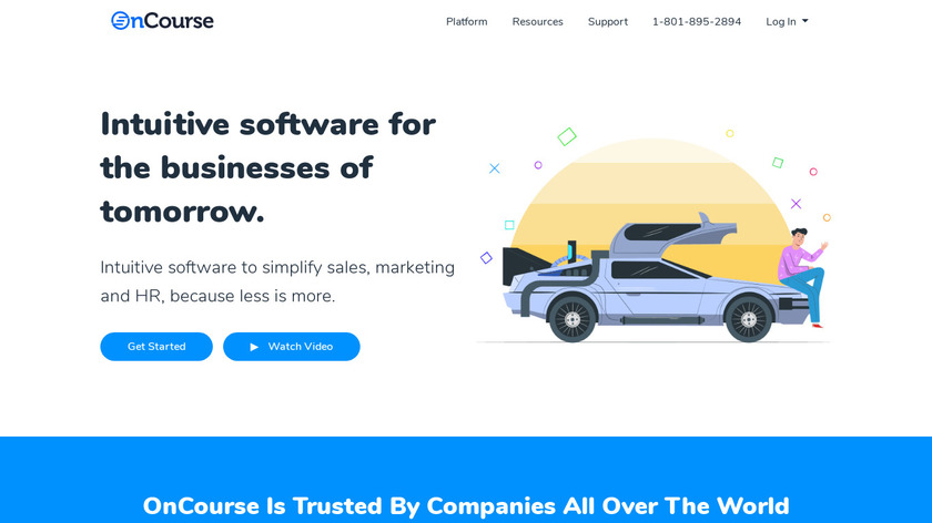 OnCourse Landing Page