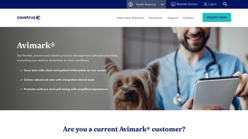 AVImark Landing Page