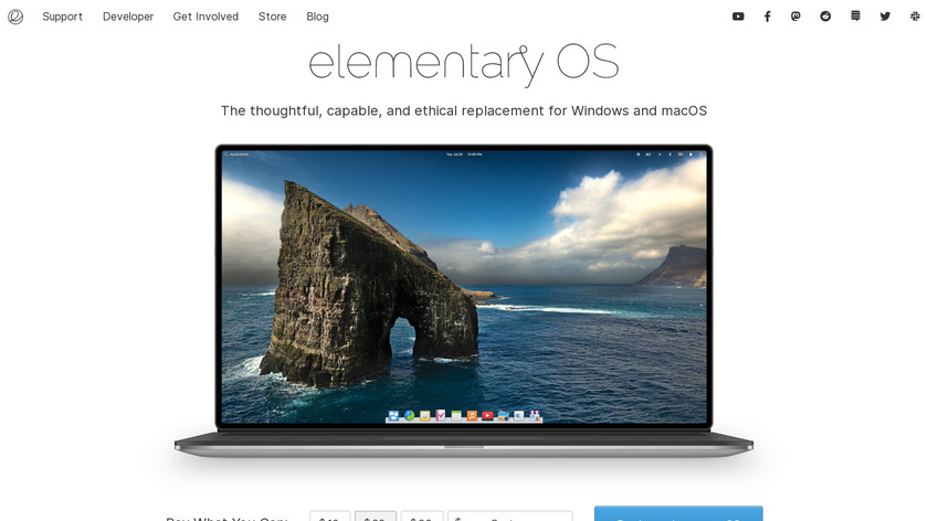 elementary OS Landing Page