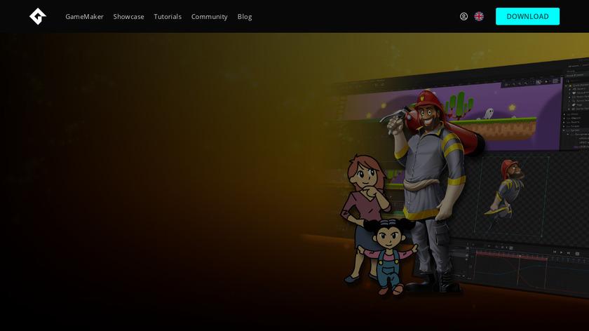 GameMaker Landing Page