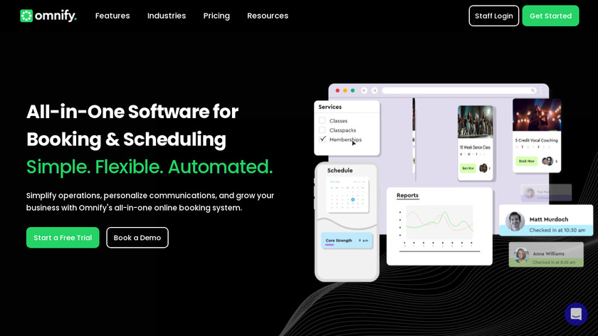 Omnify Landing Page
