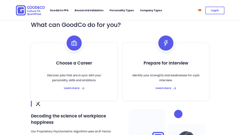 Good.Co Landing Page