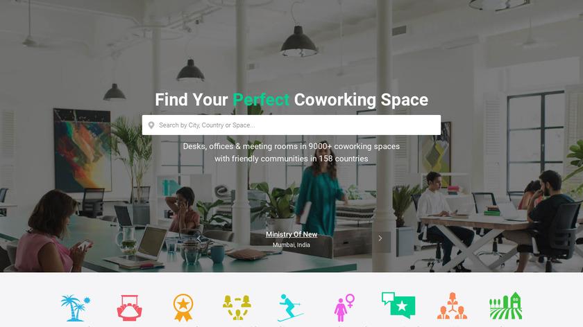 Coworker.com Landing Page