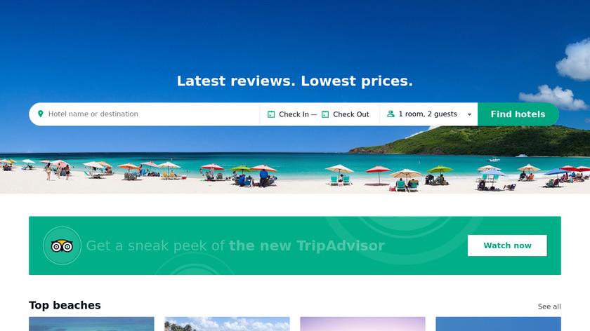 Tripadvisor Landing Page