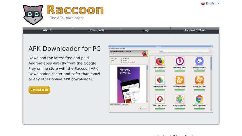 Raccoon Landing Page