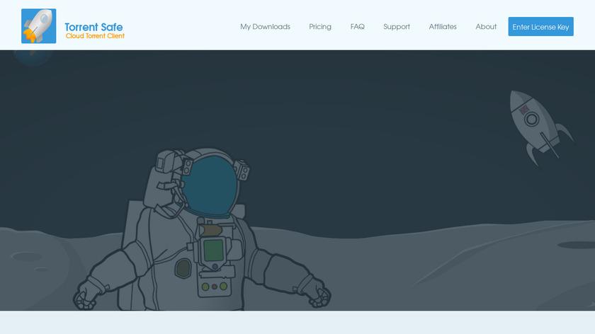 TorrentSafe Landing Page