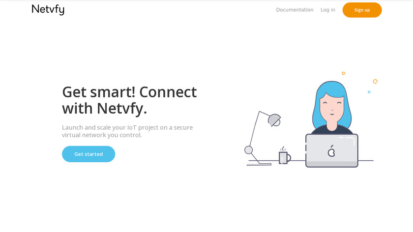 DynVPN Landing Page
