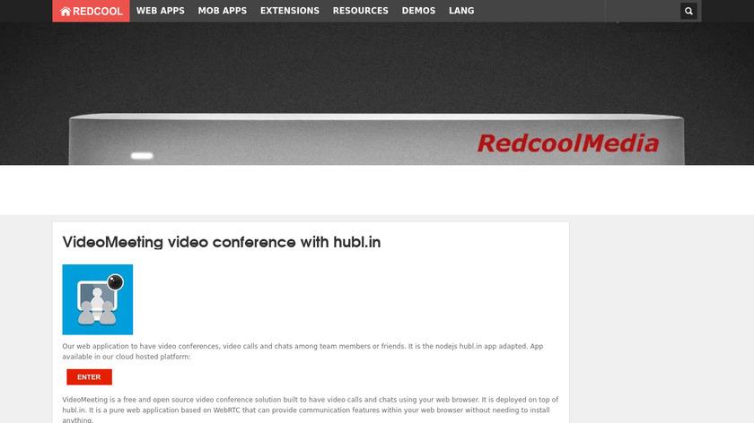 redcoolmedia.net VideoMeeting Landing Page