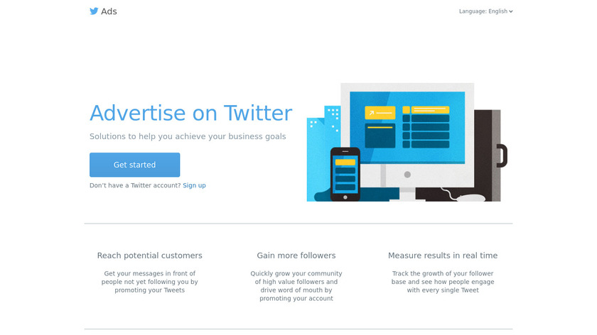 Twitter Ads Landing Page