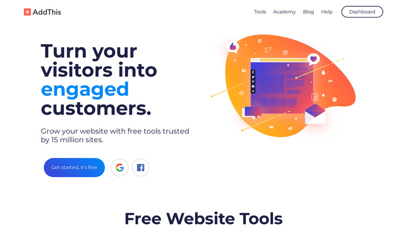 AddThis Landing Page