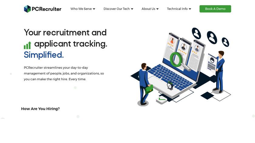 PCRecruiter Landing Page