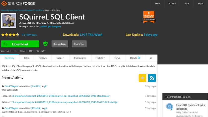 Compare SQuirreL SQL VS TeamSQL - SaaSHub