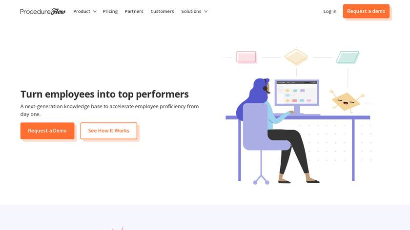 ProcedureFlow Landing Page
