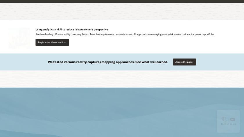 Oracle Primavera Landing Page