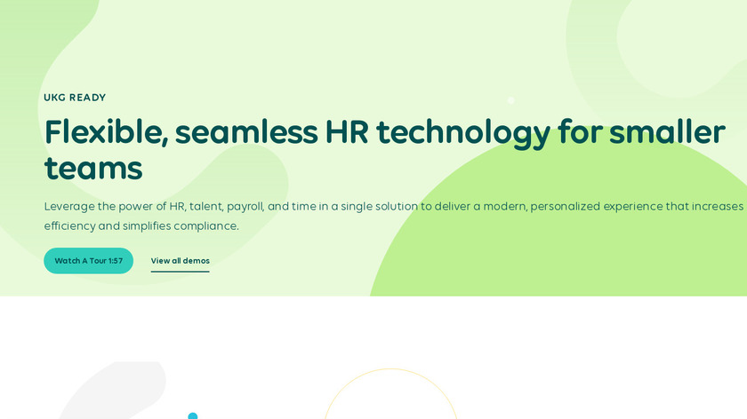 Kronos Workforce Ready Landing Page