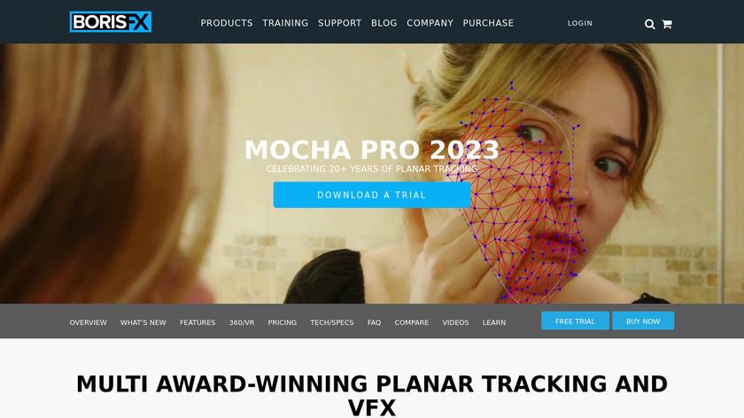Mocha Landing Page