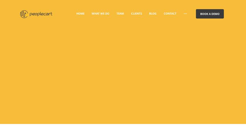Peoplecart Landing Page