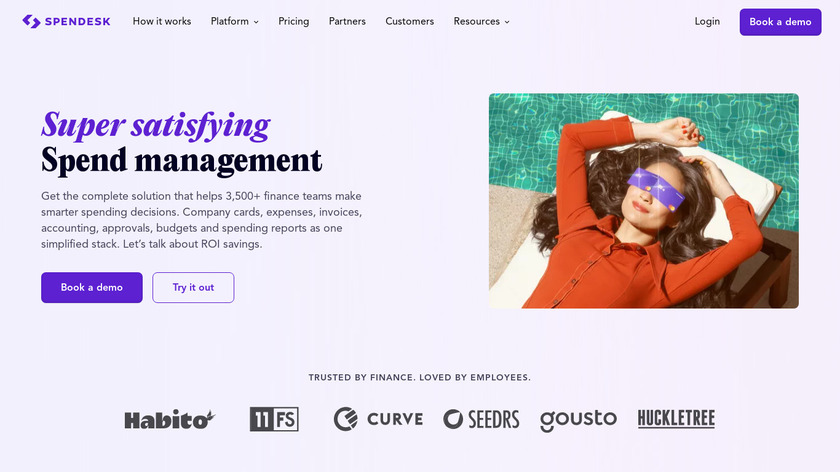 Spendesk Landing Page