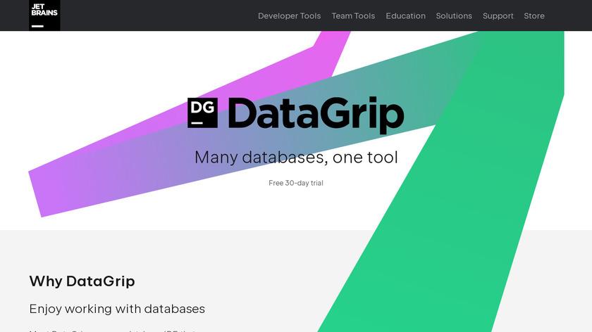 DataGrip Landing Page