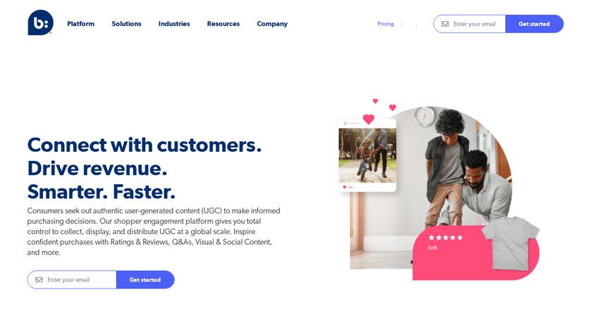 Bazaarvoice Landing Page