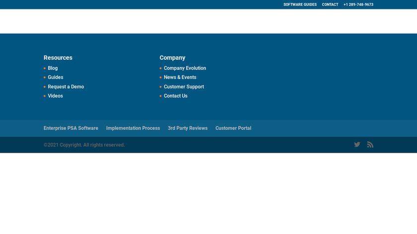 Promys Enterprise PSA Landing Page