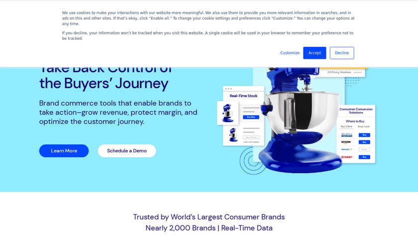 PriceSpider Landing Page
