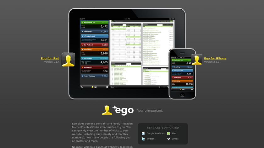Ego Landing Page