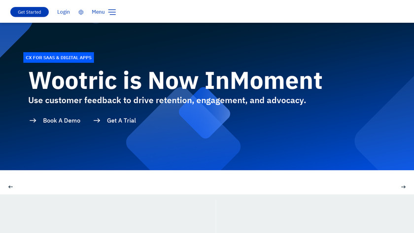 Wootric Landing Page