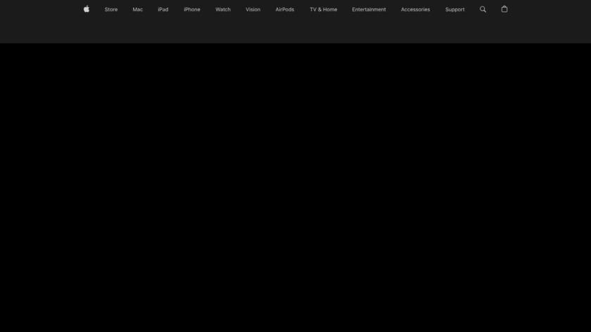Final Cut Pro X Landing Page