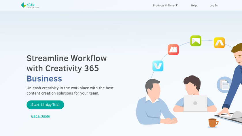 Creativity 365 Landing Page