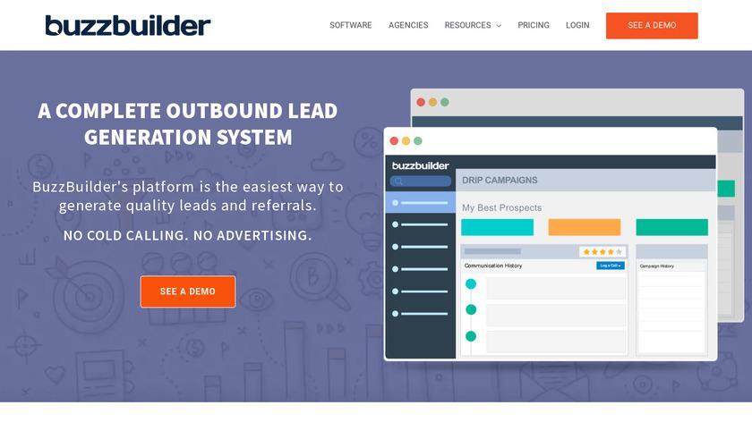 BuzzBuilder Landing Page