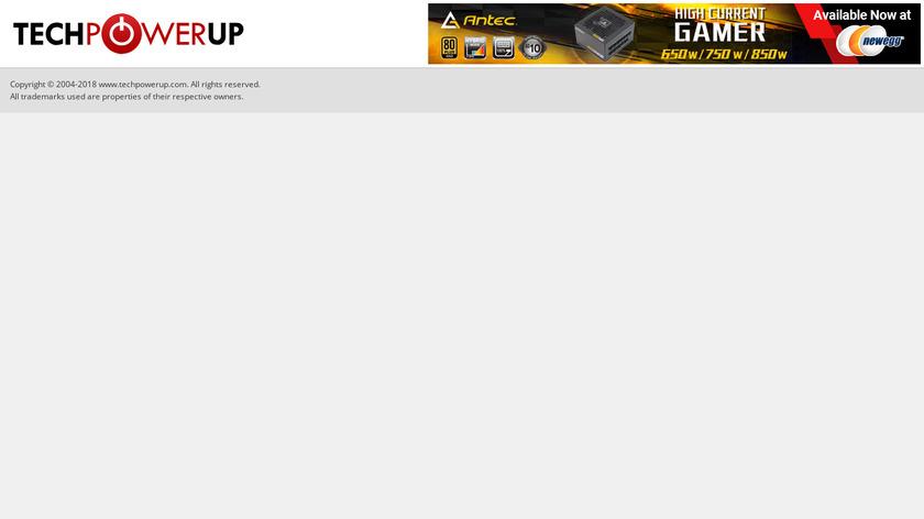 GPU-Z Landing Page