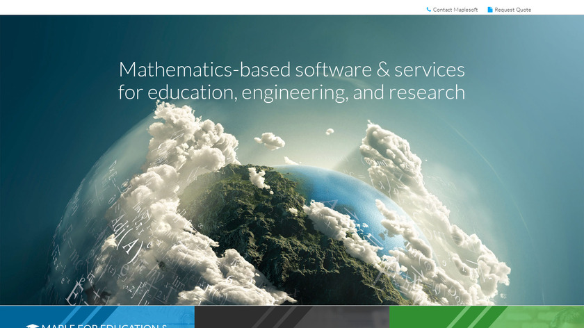 Maple Landing Page
