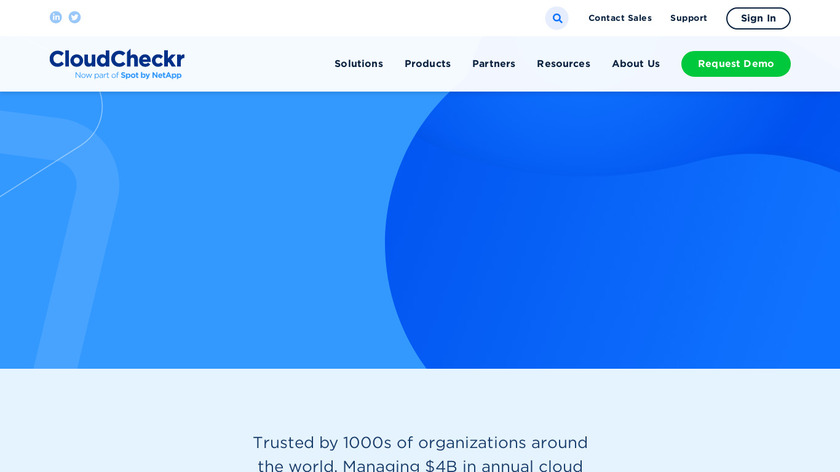 CloudCheckr Landing Page