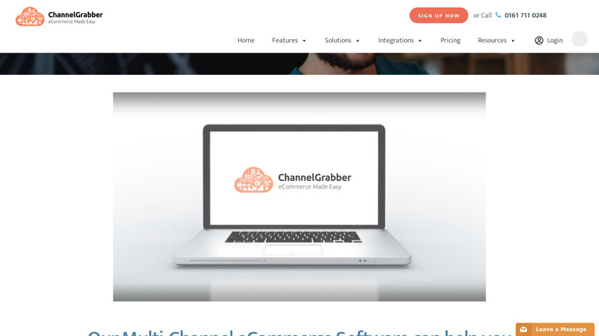 ChannelGrabber Landing Page