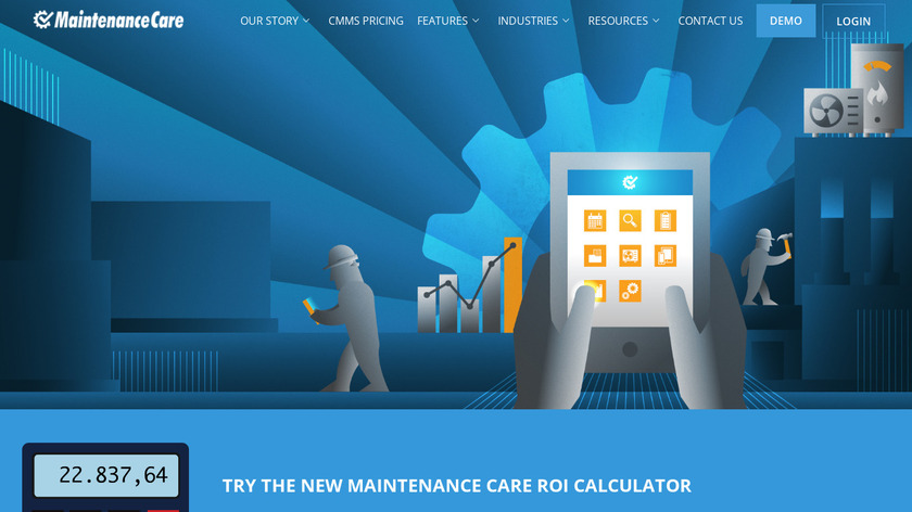 Maintenance Care Landing Page