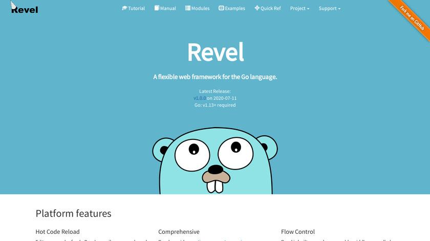 Revel Landing Page