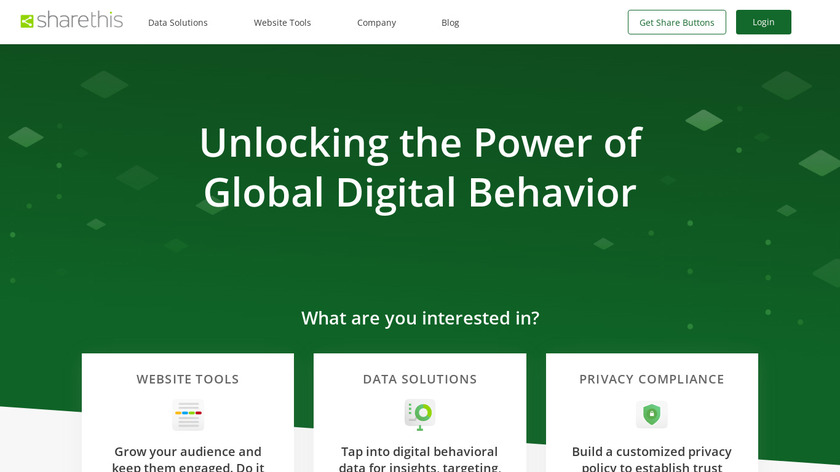 ShareThis Landing Page