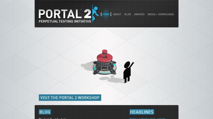 Portal Landing Page