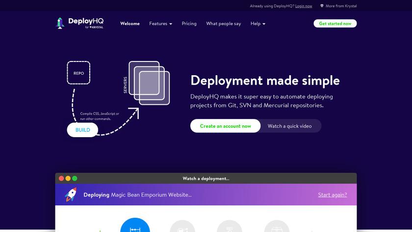 DeployHQ Landing Page