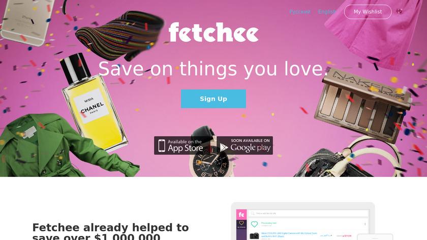 Fetchee Landing Page