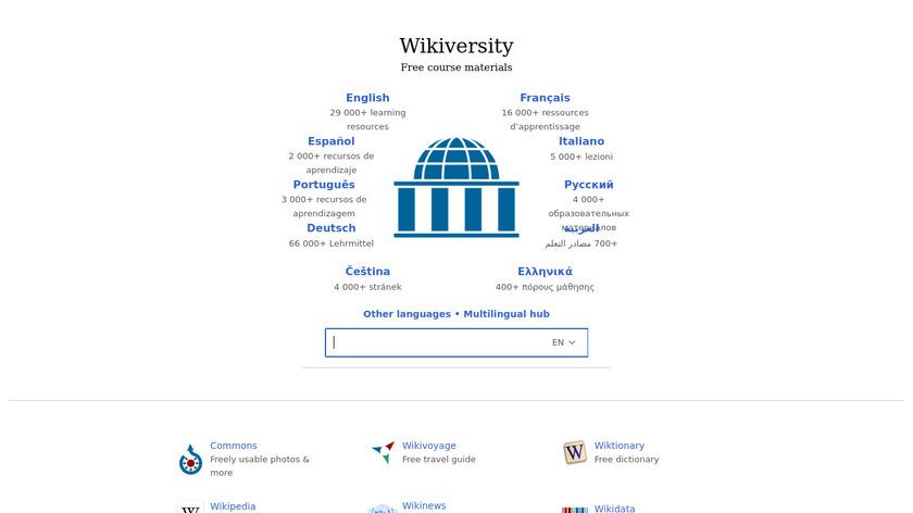 Wikiversity Landing Page