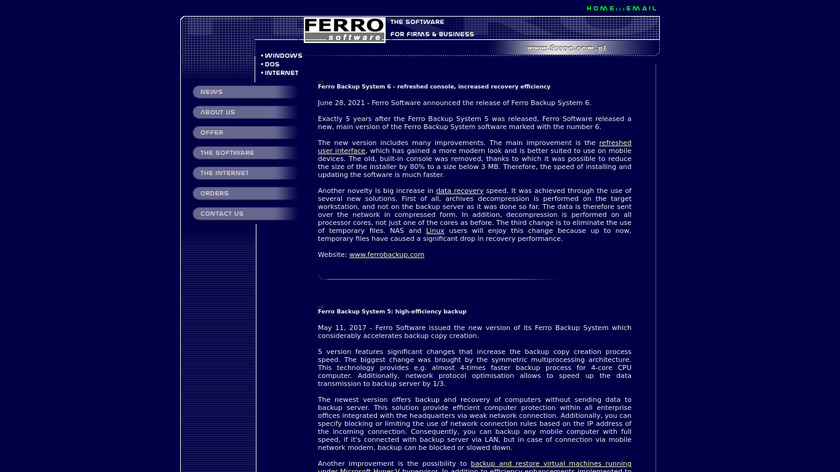 FtpUse Landing Page
