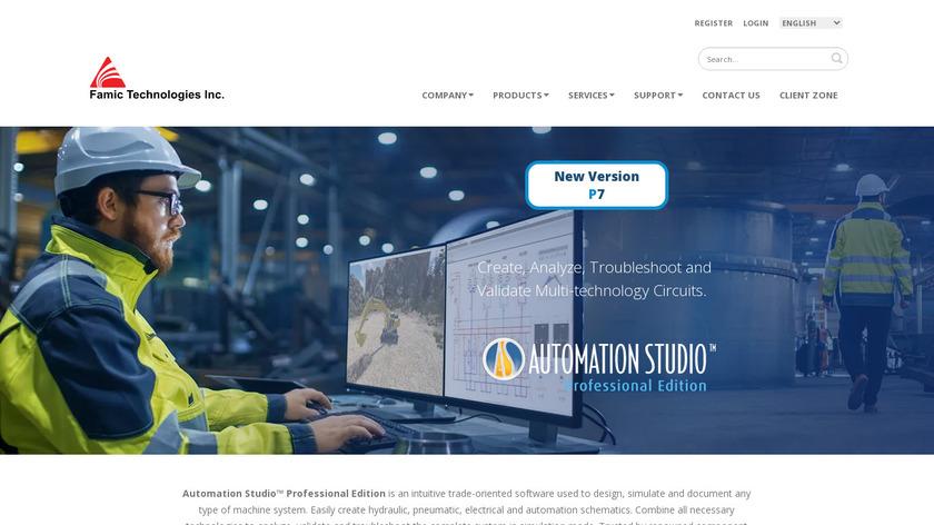 Automation Studio Landing Page