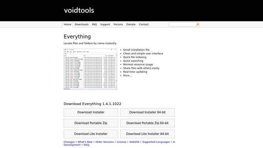 Everything Landing Page