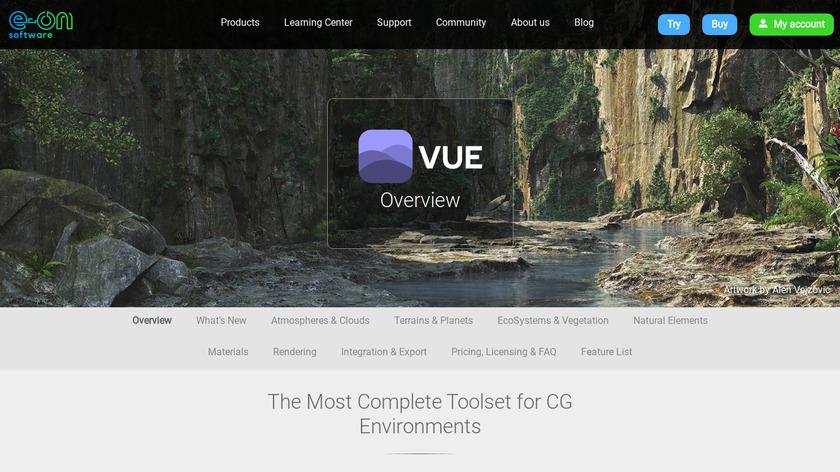 Vue Landing Page