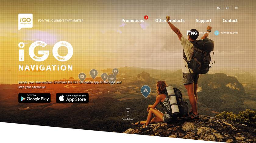 iGo Landing Page