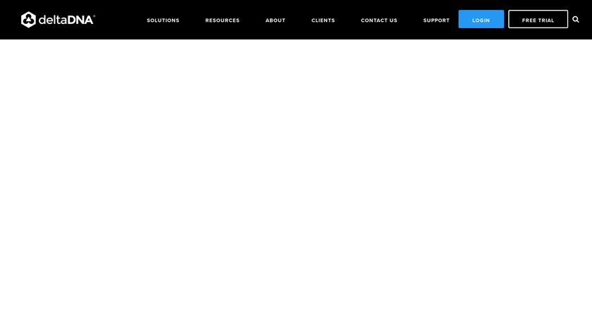 deltaDNA Landing Page
