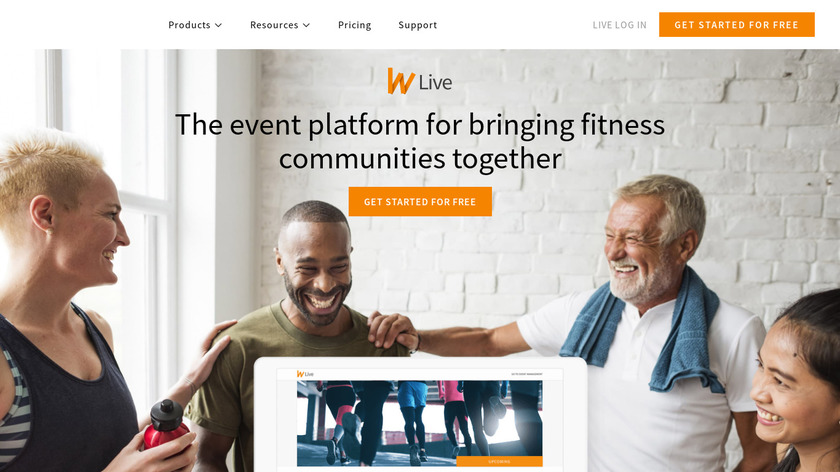Wodify Live Landing Page