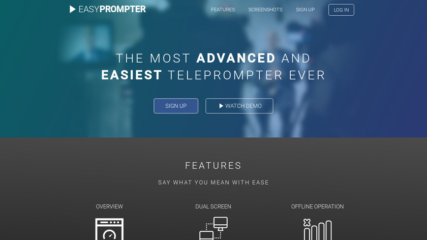 EasyPrompter Landing Page